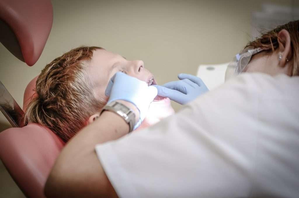 Prima visita del bambino dal dentista