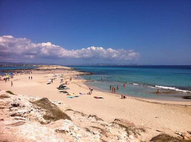 Spiaggia a Formentera