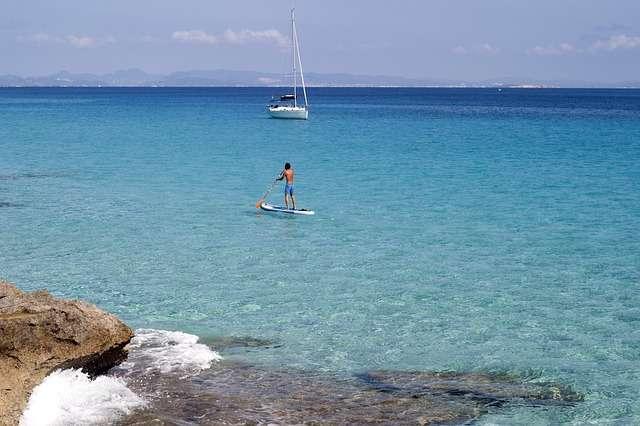 Sport acquatici a Formentera