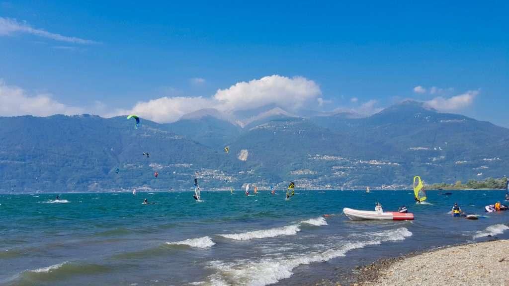Kitesurf a Colico
