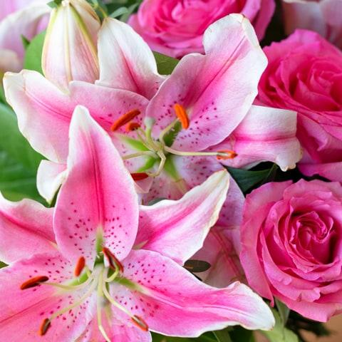 Gigli e rose
